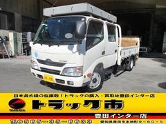 ダイナトラックWキャブ 垂直パワーゲート 標準 ロング 積載2t 6人乗