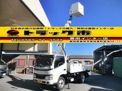 デュトロ高所作業車 アイチSS10A 作業床高さ9.7m 電工仕様