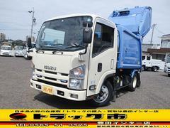 エルフトラック塵芥車 プレス式パッカー車 4.2立米 積載2トン 新明和