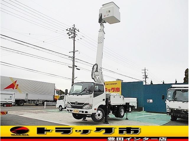 日野 高所作業車 アイチSB10A 作業床高9.7M ESスタート