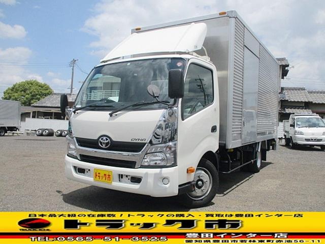 トヨタ ダイナトラック アルミバン積載2tスライドリフト ワイドロング バックカメラ
