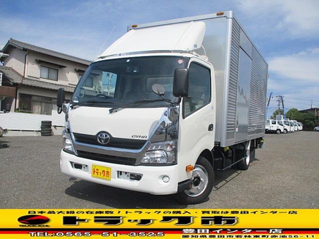 トヨタ ダイナトラック アルミバン 積載2t スライドリフト ワイドロング