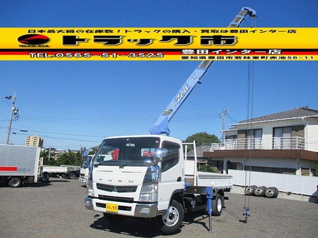 三菱ふそう ロング 4段クレーン ラジコン ワイドロング 積載2トン タダノ ZE264HR 製造2011年・新車時架装 2.63t吊