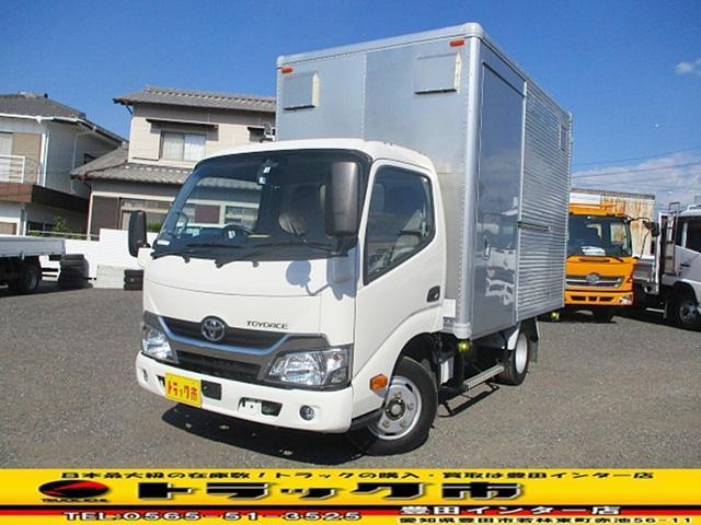 トヨタ  積載2t アルミバン サイド扉 ラッシングレール バックカメラ ETC
