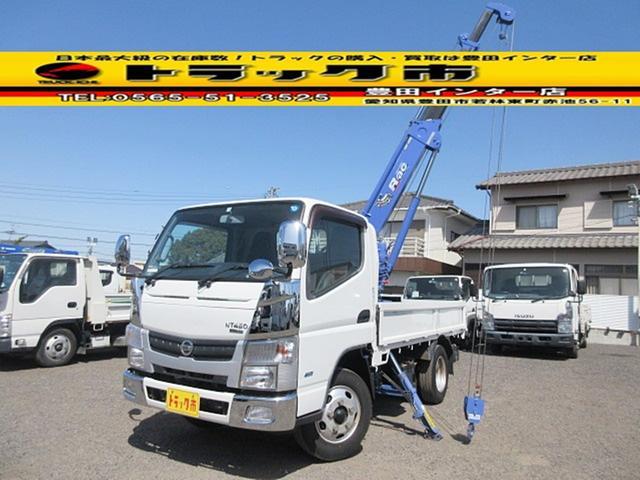日産  タダノ ZR104/Rac 製造2011年11月 4段クレーン ラジコン 0.995Kg吊り 標準10尺 積載2トン 4P10 150馬力 荷台内寸約310x61x37 クレーンまで248