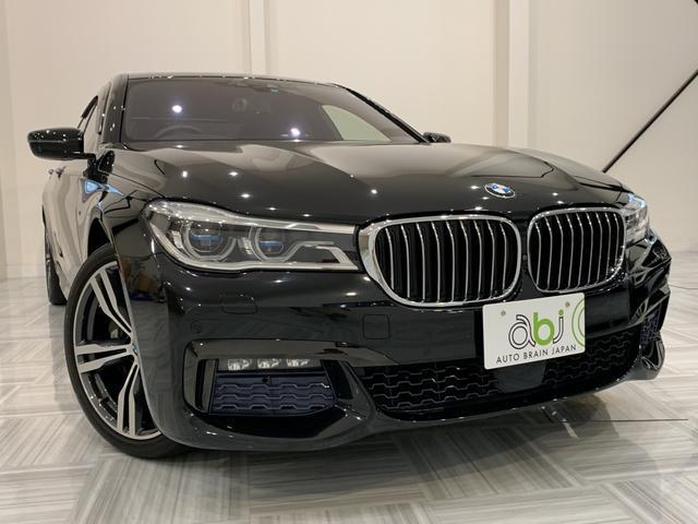 BMW 740Li Mスポーツ 1オーナー リアエンターテイメント