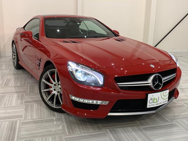 メルセデス・ベンツ SL63パフォーマンスPKG 買取車 カーボンインテリア