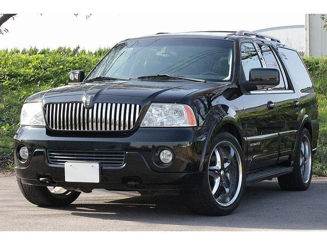 リンカーン アルティメイト 4WD 社外22インチ サンルーフ 黒革