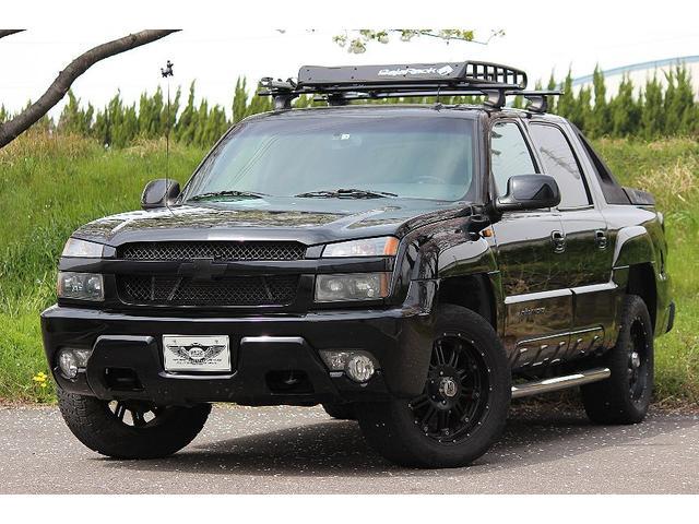 シボレー シボレーアバランチ  パートタイム4WD 1ナンバー ガラスSR HDDナビ 1セグ バックモニター ETC レザーシート 社外20AW クルコン バハラック メッキチューブステップ BOSEサウンド