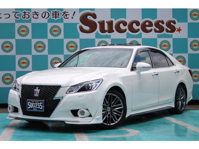 トヨタ 3.5アスリートG 黒本革 サンルーフ 純正マルチ