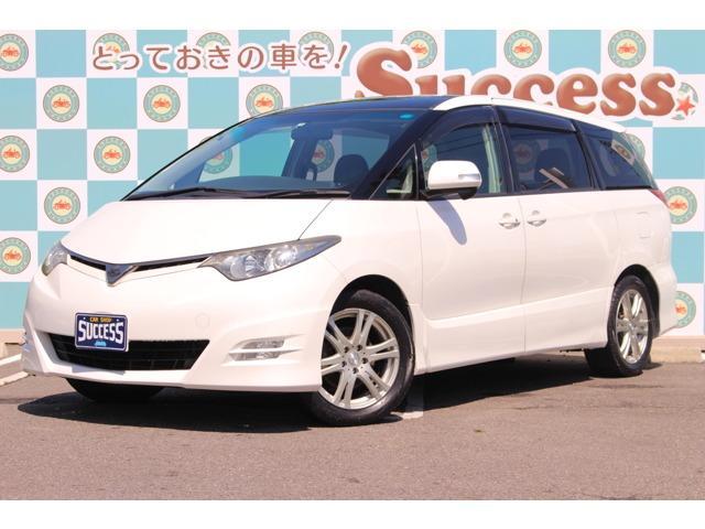 トヨタ 2.4アエラス 両側電動ドア スマートキー サンルーフ
