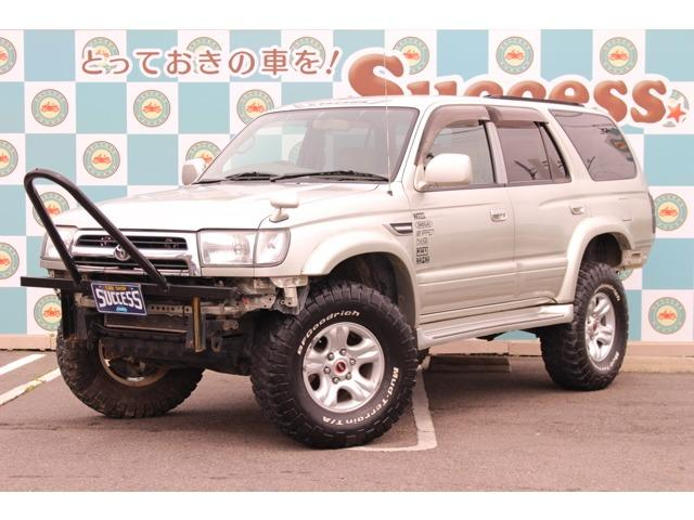トヨタ ハイラックスサーフ 2.7SSR-X 4WD リフトアップ キーレス