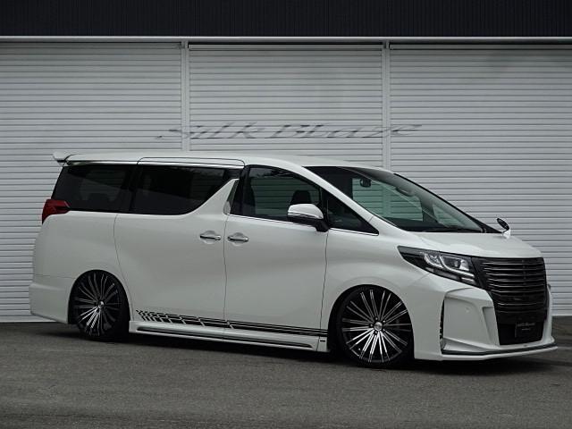 トヨタ 2.5S シルクブレイズGLANZENエアロ 車高調20AW