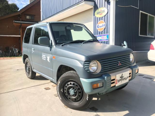 三菱 XR-Iパートタイム4WD カスタムペイント Tベルト交換