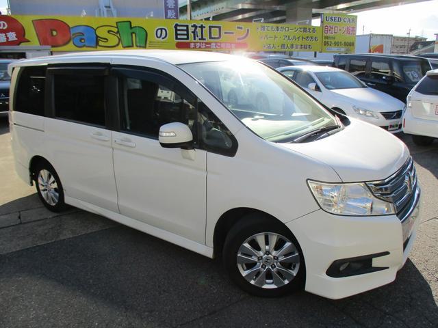 ホンダ S 社外SDナビ・TV・DVD・左側パワスラ・パドルシフト