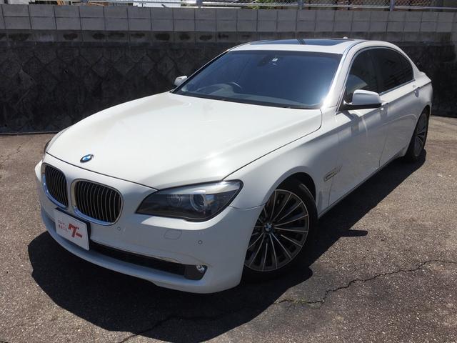 BMW 750Li ロング TV サンルーフ 黒革 右ハンドル