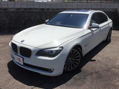 BMW750Li ロング TV サンルーフ 黒革 右ハンドル