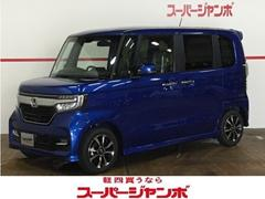 N BOXカスタムG・Lホンダセンシング 届出済未使用車 キーフリー