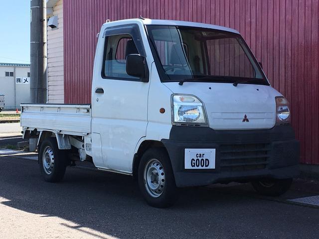 三菱 TS 4WD エアコン パワステ 三方開 車検整備付き