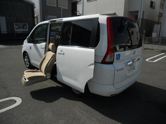 日産 福祉車両 サイドリフトアップ 7人乗