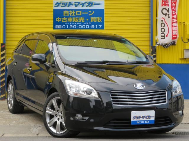 トヨタ 240G HDD フルセグ HID Pシート 18インチAW