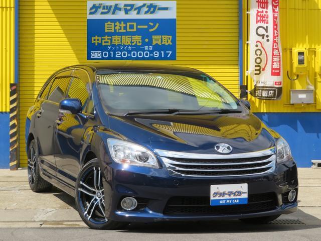 トヨタ エアリアル HDD フルセグ Rモニター 社外18アルミ