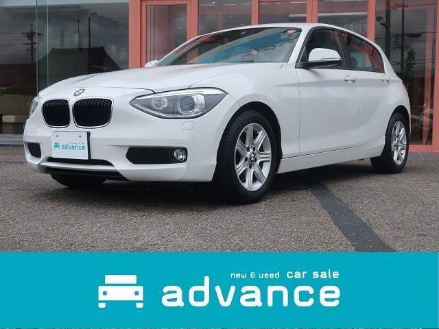 BMW 116i iDrive ワンオーナー・ディーラー車 禁煙車