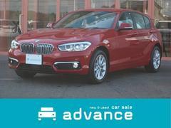 BMW118d スタイル 純正ナビ バックカメラ 登録済未使用車