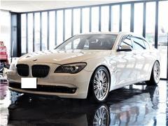BMW750Li 正規D車 左ハンドル WALD21インチ