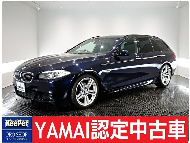 BMW 5シリーズ 523dブルーパフォーマンス ツーリングMスポーツP 黒革シート パドルシフト Bカメラ ETC メモリー付きパワーシート Frシートヒーター クルーズコントロール オートエアコン 純正HDDナビゲーション USB AUX接続可能