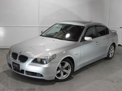 BMW530iハイラインパッケージ サンルーフ 黒革シート ナビ