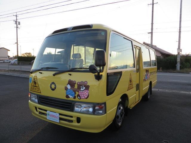 日野 幼児専用車 パワーステアリング
