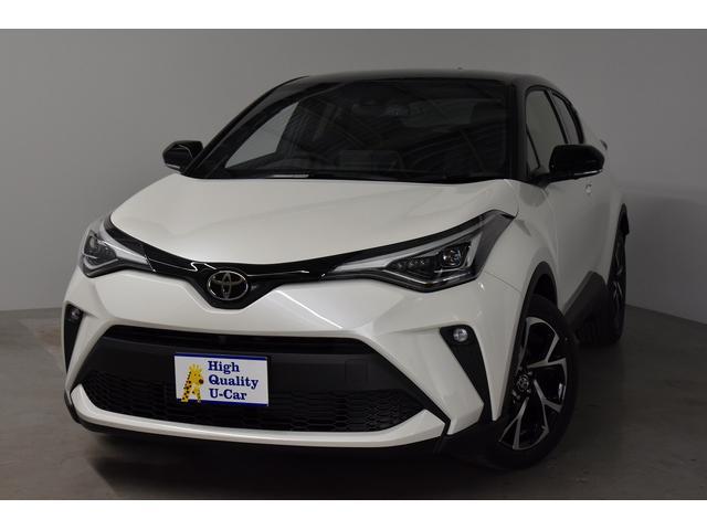 C−HR(トヨタ) G−T 登録済み未使用車(2020年6月製造モデル) クリアランスソナー ターボ LEDヘッドライト Bカメラ ナビ 中古車画像