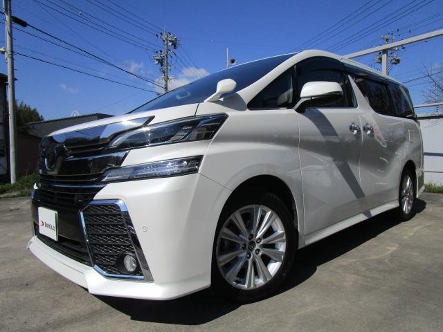 トヨタ 2.5Z ワンオーナー 後席モニター 4WD