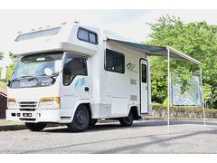 エルフトラック横浜モーターセールス製オックス キャンピングカー4WD