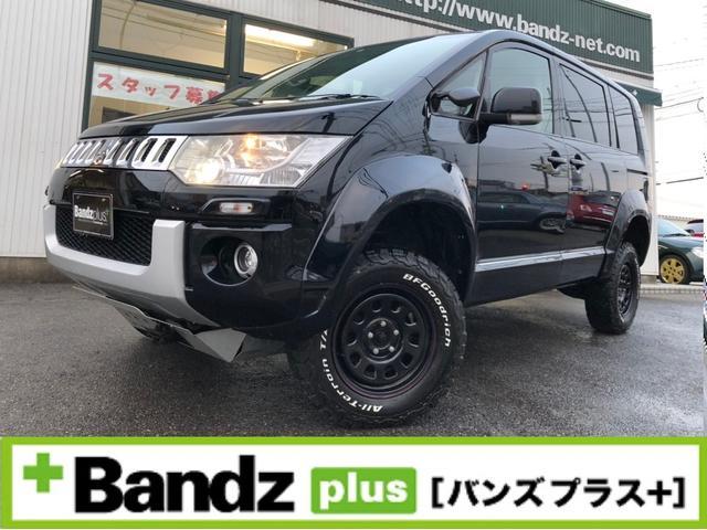 三菱 GパワーP/新品タイヤ/4インチUP/ナビ地デジ/オーバーF