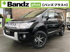 デリカD:54WD Gパワー/新品タイヤ/新品ホイル/BTナビ地デジ
