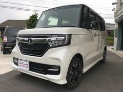 N BOXカスタムG・EXターボホンダセンシング ナビ TV ドラレコ ETC