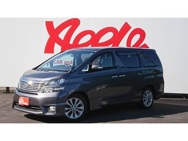 トヨタ 2.4Z プラチナムセレクション 7人乗 ナビ 後席モニタ