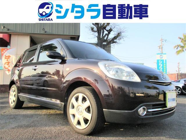 マツダ L レザーシート スマートキー フォグ CD