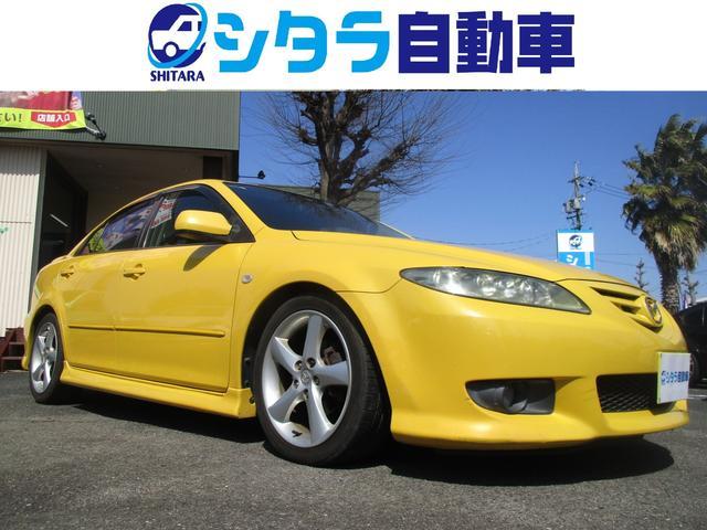 マツダ 23S 5MT HKS車高調  バイパーセキュリティ HID 純正ナビ CD