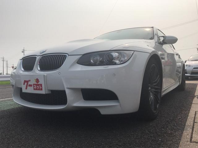 BMW M3 M3クーペ ディーラー車 6速MT 黒本革シート スペアキー 純正18インチAW カーボントランクスポイラー シートヒーター メモリー付パワーシート 前後PDC