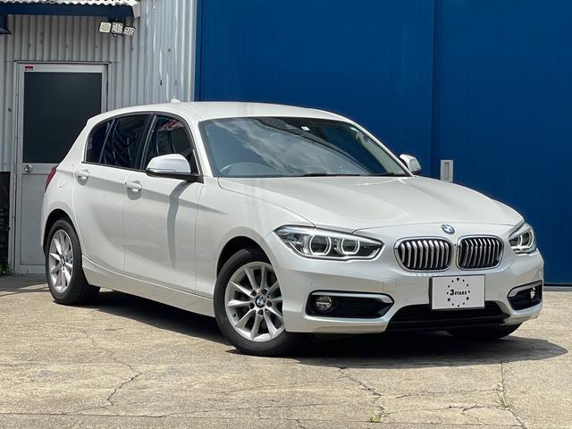 BMW 1シリーズ 118d スタイル /後期型/純正ナビ/社外フルセグTVチューナー付/バックカメラ/ミラー一体型ETC/LEDヘッドライト/コンフォートアクセス/ハーフレザーシート
