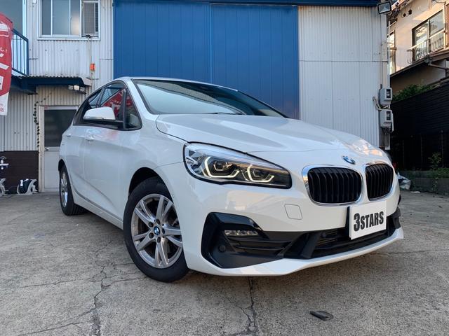 BMW 218dアクティブツアラー 純正ナビ 純正LEDヘッドライト&フォグランプ バックカメラ