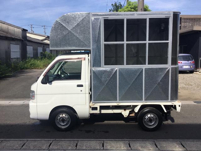 ダイハツ  移動販売 キッチンカー キャンピングかー 新規製作 4WD