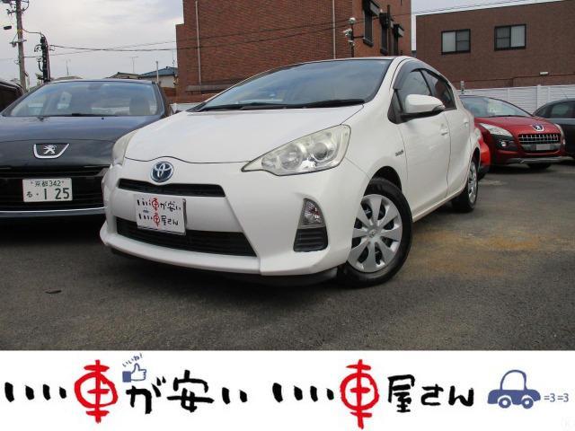 トヨタ アクア S 禁煙 SD Fセグ Bカメ BT ETC