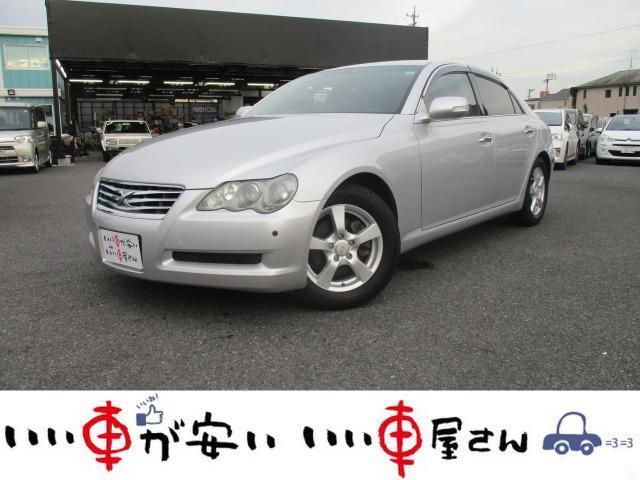 トヨタ マークX 250G Lパッケージ 禁煙 HDD フルセグ DVD ETC 純正AW 取説