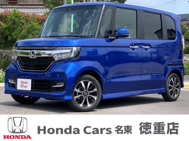 ホンダ N-BOXカスタム G・Lホンダセンシング 届出済み未使用車 両側電動ドア