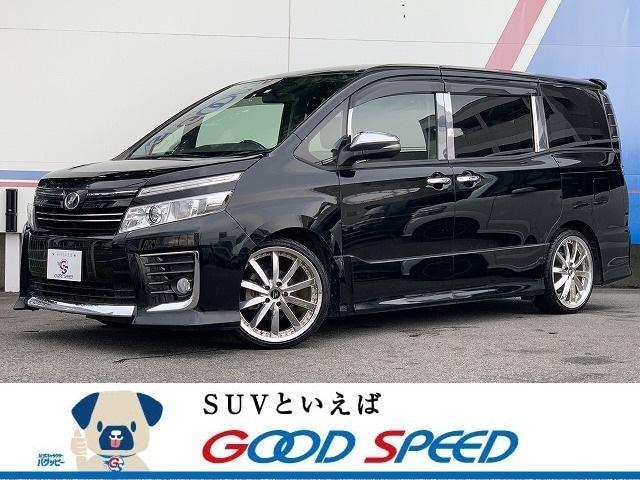 トヨタ ZS 煌 9型ナビTV フリップダウンモニター 両側電動ドア スマートキー LEDヘッド 19アルミ ウィンカーミラー ビルトインETC コンビハンドル キャプテンシート 7人乗り