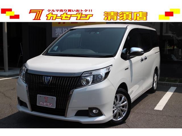 トヨタ ハイブリッドGi ブラックテーラード 1オナ 9型ナビ/TV